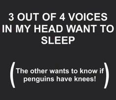Why I have trouble sleeping