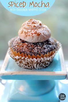 spiced mocha cupcakes!
