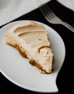 Vegan Peanut butter cream pie