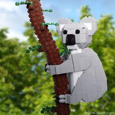 lego koala, lego land, legoland