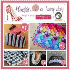 Hookin On Hump Day #77 - join the linky fun and check out the best blog posts from your favorite fiber artists!