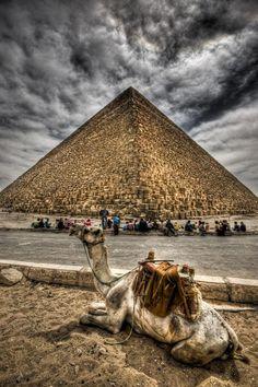 The pyramid...