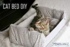 CAT BED DIY | MY WHITE IDEA DIY