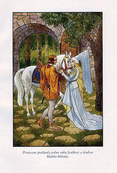 Vintage fairy tale art