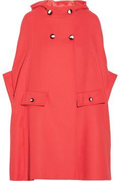 Chenpan wool-blend cape coat