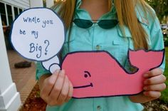 How I asked my Big :) -- proud to say this is my Grand Little!!!