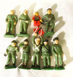 WW1 or WW2 toy soldiers army men di etsybetsycash su Etsy, $25.00