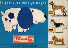 Álbum de cromos de Los perros de Panrico