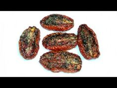 """Sun Dried"" Tomatoes...done in the oven...I'd be eating these right out of the oven!!"