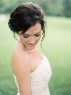 Bridal hair inspiration: http://www.stylemepretty.com/alabama-weddings/montgomery-al/2014/09/16/elegant-floral-filled-southern-garden-bridal-inspiration/ | Photography: Ashley Kelemen - http://ashleykelemen.com/