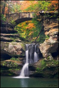 Hocking Hills State Park, south of columbus,Ohio. Gorgeous and neat place