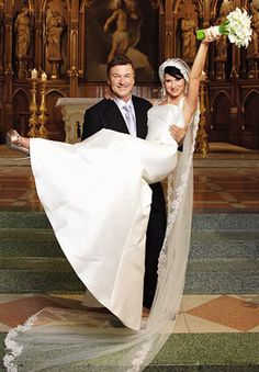 Alec Baldwin married yoga instructor Hilaria Thomas on June 30, 2012 in New York.