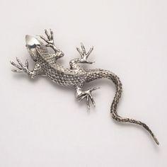 lizard pin, textur lizard