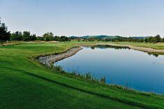Beautiful hole at Covered Bridge Golf Club