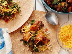 Make-it-don't-buy-it Frozen Vegetarian Burritos Recipe : Food Network Kitchens : Food Network - FoodNetwork.com