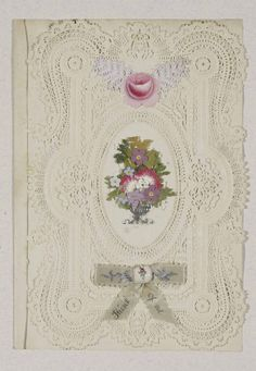 Ribbon. (C) Bodleian Library, University of Oxford: Harding Valentines 4