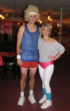 Rad (and easy) #80s costumes!  More ideas here: http://www.liketotally80s.com/80s-party-idea.html