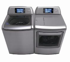 LG Washer/Dryer Smart Appliances with THINQ™ Technologies