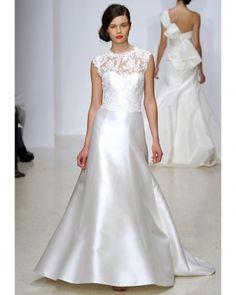 Amsale 'Taylor' - Spring 2013 @Christabelle Lavarro Vie Bridal Couture www.belleviebridalcouture.com