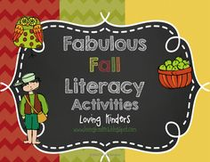 HERE COMES THE FALL! CCSS connected apple activities!  Phonological awareness games, math, science, and crafts!