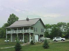 Morton Buildings home in Clive, Iowa.