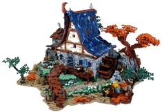 César Soares has several gorgeous builds that he has done for the Guilds of Historica section over at Eurobricks. Castle themed MOCs are his specialty and this build shows that he has some impressive skills when it comes to building in this theme.