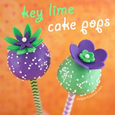 Key Lime Cake Pops Recipe and Tutorial