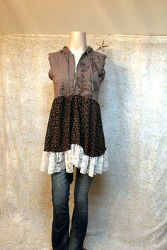 RevivaL Women's Upcycled Boho Knit Shirt, For perfect makeup to go with it visit http://www.ctiner.avonrepresentative.com
