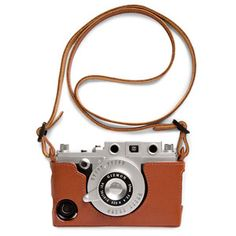 iCA Leather Case and Strap Brown now featured on Fab.