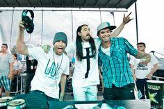 Kaskade, Aoki, and Datsik