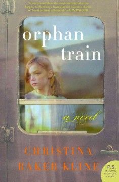 Orphan train by Christina Baker Kline.  Click the cover image to check out or request the literary fiction kindle.