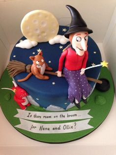 Room on the broom on Pinterest  Dragon Cakes, Plush and Story Stones