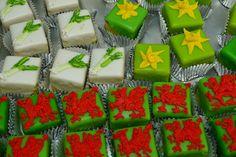st davids day cakes!
