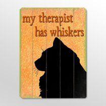 I have three therapists!!!!