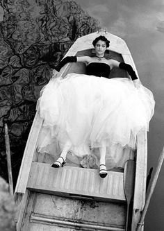 Helena Christensen by Arthur Elgort