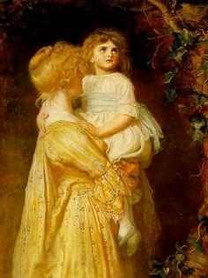 """""""Nest""""  -   John Everett Millais"""