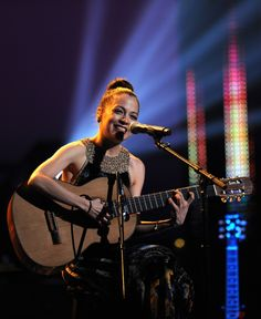 Natalia Lafourcade performs at the 14th Annual Latin GRAMMY Awards on Nov. 21 in Las Vegas