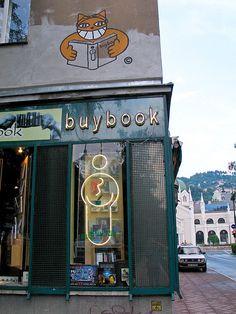 El gato con libros, Sarajevo