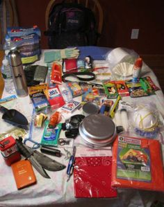 Bug-out bag list. Plus other survival tips