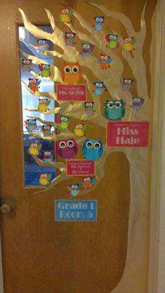 Classroom Door Decor :)