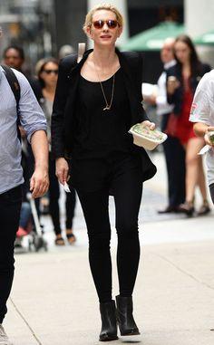 CATE BLANCHETT The Oscar winner heads to lunch in Manhattan.