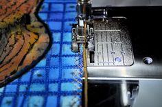 Alternative edge treatment for an art quilt