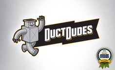A retro-inspired logo for a duct cleaning company in NJ.