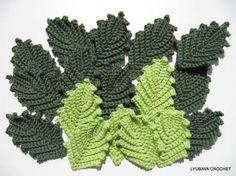 Leaf Irish Crochet Tutorial Pattern