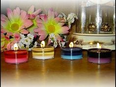 Video: Soy Candle Making at Home for Beginners- 7-8 Hour Soy Tealights