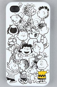 Peanuts iPhone Case. PEANUTS IPHONE CASE!