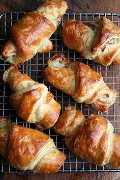 Prosciutto and Gruyere Croissants
