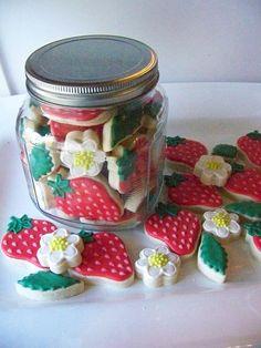 Cookies de fresa