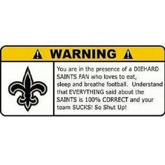 Who Dat! New Orleans Saints!