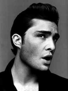 this man, style boards, retro hair, ed westwick, new hair, head shots, future husband, chuck bass, man style